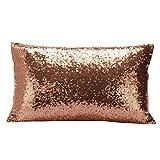 Fodera per cuscino federa per la decorazione della casa,YanHoo Cuscini, PillowCase,Cuscini decorativi,Cuscini decorativi e accessori,Copricuscini decorativi da letto,Cuscini da letto (Caffè)