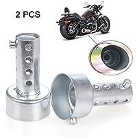 ETGtek 2pcs de escape de la motocicleta de alta calidad db Killer Silenciador Ajustable de escape Silenciador 48mm