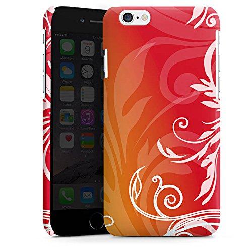 Apple iPhone 4 Housse Étui Silicone Coque Protection Fleurs Fleurs Guirlandes de fleurs Cas Premium brillant