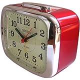 Technoline Geneva XL Radio réveil à quartz Rouge métal (Import Allemagne)