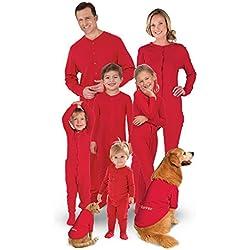 Conjunto pijamas familiar