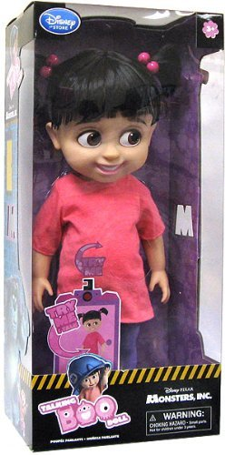 Disney Monsters Inc. Exclusive 16 Inch Deluxe Talking Doll Boo by Monster's Inc. (Inc Exclusif)