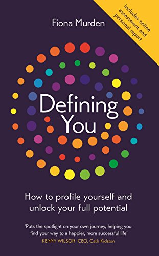 Defining you how to profile yourself and unlock your full potential defining you how to profile yourself and unlock your full potential by murden fandeluxe