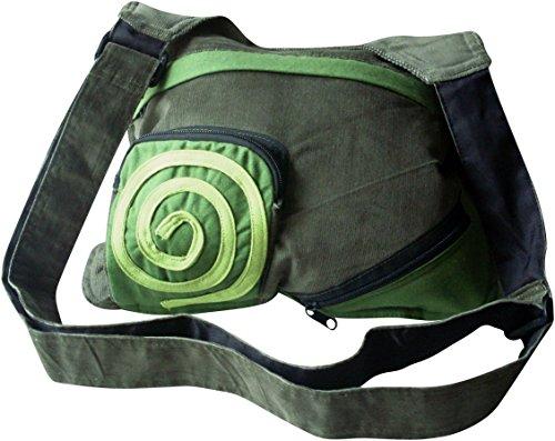 Fairtrade Cotton Green Side Bag
