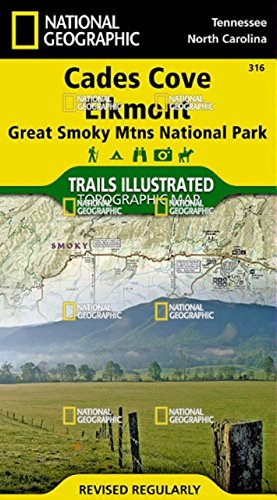 cades-cove-elkmont-great-smoky-mountains-national-park-mappa