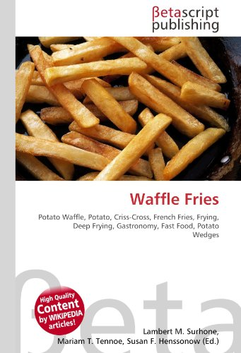Waffle Fries: Potato Waffle, Potato, Criss-Cross, French Fries, Frying, Deep Frying, Gastronomy, Fast Food, Potato Wedges