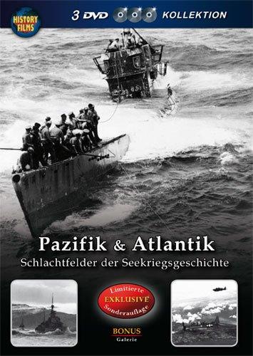 Preisvergleich Produktbild History Films - Pazifik & Atlantik - Schlachtfelder der Seekriegsgeschichte [3 DVDs]