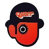REAL EMPIRE Echt Empire Clockwork Orange Droog Eisen auf Sew auf bestickt Patch