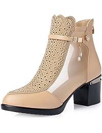 Sneakers Uomo Inverno,Scarpe Da Uomo Sneakers Uomo Inverno,Zipper Shoes Fashion High Top Scarpe Casual Uomo Scarpe Stringate zycShang (43, blu)