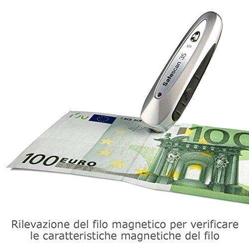 Penna Rilevatore SafeScan controllo soldi falsi contraffatti denaro Lampada UV
