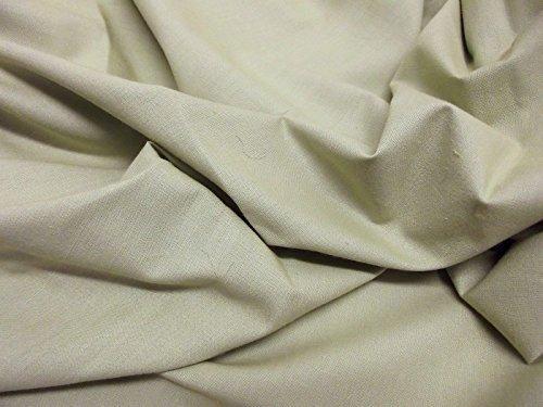 Qualität uni 60 SQ Pure Baumwolle Stoff - Salbei - 5 Mtrs - 500cmx144cm -