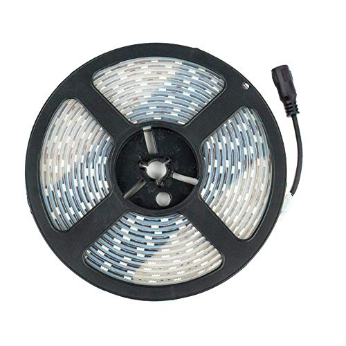 Tira LED 12V DC SMD5050 60LED/m 5m IP67 Blanco Neutro 4000K-4500K efectoLED