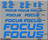 PEGATINAS FOCUS BIKE R121 VINILO ADESIVI DECAL AUFKLEBER MTB STICKERS BIKE AZUL