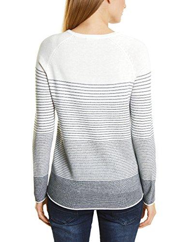 Cecil Damen Pullover Mehrfarbig (Pure Off White 20125)