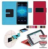 reboon Hülle für Blackview P6000 Tasche Cover Case Bumper   Rot   Testsieger