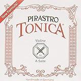 Pirastro Tonica 412221Einzelsaite aus Aluminium für Geige, A-Saite, medium, Größe 4/4