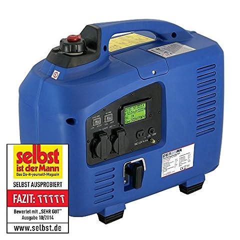 DENQBAR 2,2 kW Inverter Stromerzeuger Notstromaggregat Stromaggregat Digitaler Generator benzinbetrieben