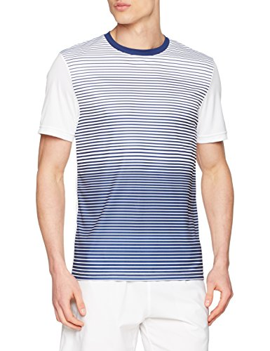 Wilson Men's M Team Striped Crew Sport T-Shirt