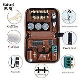 Golf Multifunction Bag Golf Accessories Tool Bag Outdoor Golfer's Gift Set