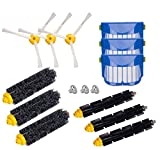 Honfa iRobot Roomba Parts 614 620 630 650 660 665 690 770,780,790 Vacuum Cleaner Accessory,12 pcs Replacement Accessory for Roomba Brushes Kits 600 700 Series with a free cleaning brush
