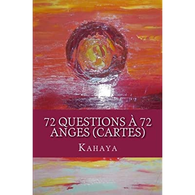 72 questions à 72 anges (CARTES)