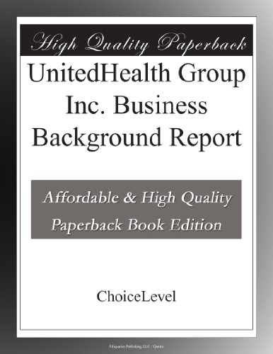 unitedhealth-group-inc-business-background-report