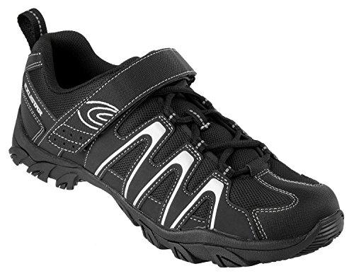 Chaussures Noires Exustar Vtt / Trekking / Outdoor (schwarz / Silber)