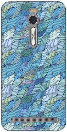 The Racoon Lean printed designer hard back mobile phone case cover for Asus Zenfone 2 ZE551ML. (Turquoise)  available at amazon for Rs.99