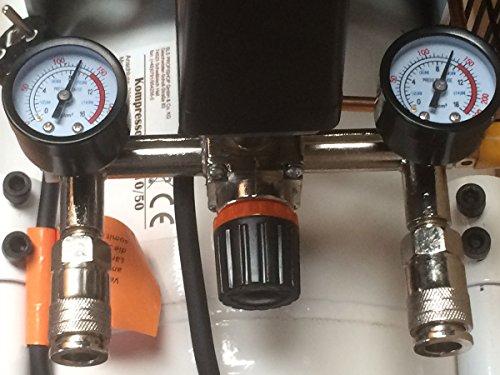 Starkwerk Druckluftkompressor 455/10/50 10 Bar - 3