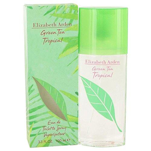 Green Tea Tropical by Elizabeth Arden - Eau De Toilette Spray 3.3 oz
