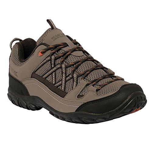 Regatta Edgepoint Ii, Chaussures de Randonnée Basses Homme Beige (Sand/Peat 8R2)