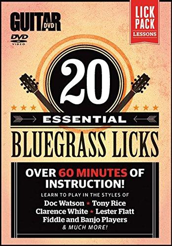 Guitar World: 20 Essential Bluegrass Licks, 1 DVD