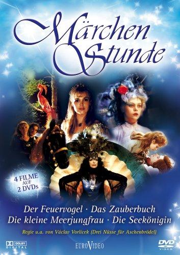 Märchenstunde - Der Feuervogel, Das Zauberbuch, Die Seekönigin, Die kleine Meerjungfrau (2 DVDs)