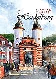 Kalender Heidelberg 2018 Aquarelle -