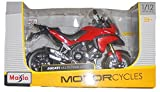 Maisto Assembly Line Ducati Multistrada 1200S - 1:12 Scale Diecast Motorcycle