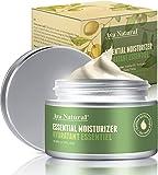 Vegane Tagescreme Naturkosmetik Gesichtscreme - Anti Aging Gesicht Creme Anti Falten Gesichtspflege Skin Care Feuchtigkeitscreme für trockene Haut
