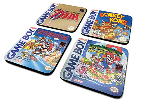 Nintendo Game Boy Coasters, Set of 4