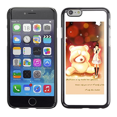 Graphic4You Cozy Afternoon Tea Design Harte Hülle Case Tasche Schutzhülle für Apple iPhone 6 / 6S Design #16