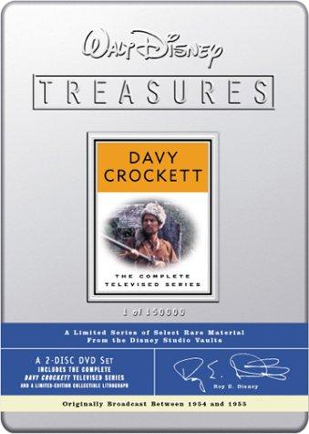 Walt Disney Treasures: Davy Crockett - The Complete Televised Series (Davy Crockett-tv-serie)