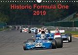 Historic Formula One 2019 (Wandkalender 2019 DIN A4 quer): Szenen aus der FIA Historic Formula One Championship (Monatskalender, 14 Seiten ) (CALVENDO Sport)