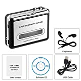 Best Cassette To Mp3s - Portable Cassette Player, FORITO Retro Cassette Tape Converter Review