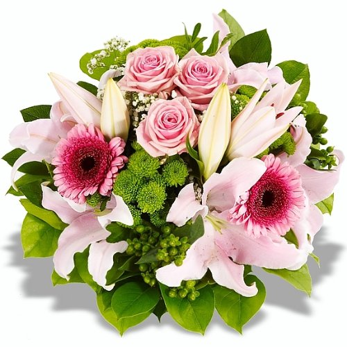 "floristikvergleich.de Blumenstrauß ""Lilly"""