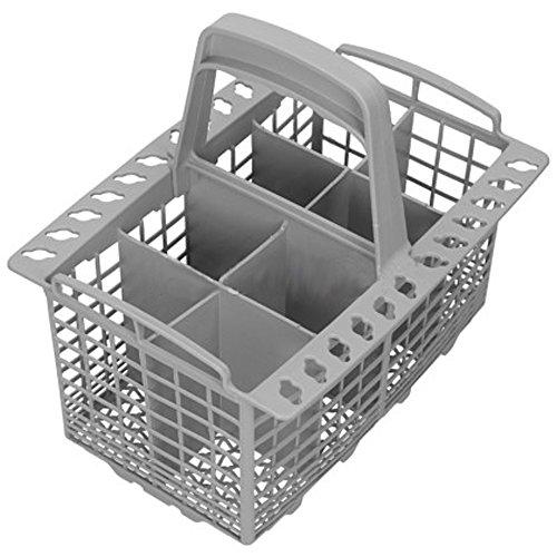 Spares2go Couverts Panier Cage et poignée pour Beko lave-vaisselle (8 compartiments)