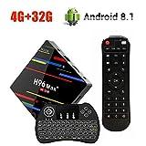 Android 8.1 TV Box , H96 Max Plus 4GB RAM + 32GB ROM