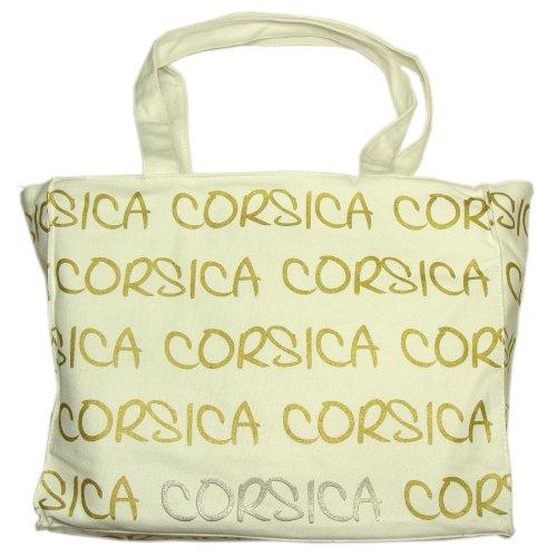 Robin Ruth - Sac Shopping Corse Robin Ruth - Couleur : Blanc