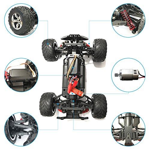 RC Auto kaufen Monstertruck Bild 3: HomeXin RC Cars Rock Offroad Racing Fahrzeug Crawler Truck 2,4 Ghz 4WD High Speed 1:20 Radio Fernbedienung Buggy Elektro Fast Race Hobby- Blau*