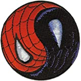 SPIDERMAN Application AnwendungYin Yang Patch Fleck, Officially Licensed Marvel Comics Superhero...
