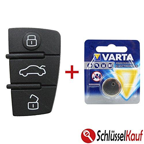 tastenfeld-audi-a3-a4-a5-a6-a8-tt-autoschlussel-ersatztaste-gummi-pad-batterie