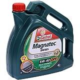 4 l de aceite de motor Castrol Magnatec Diesel para DPF de 5-40 W, incluye colgador para cambio de aceite. Especificaciones/autorizaciones: API SM/CF, ACEA C3, VW 502 00, 505 00/505 01, MB 229.31, BMW Longlife-04, Ford WSS-M2C 917-A, Fiat 9.55535-S2.