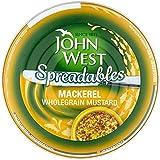 John Tartinables Ouest 80G Maquereau Et Moutarde (Paquet de 6)